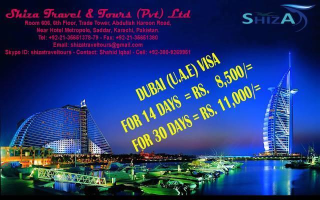 Shiza Travel & Tours-Karachi