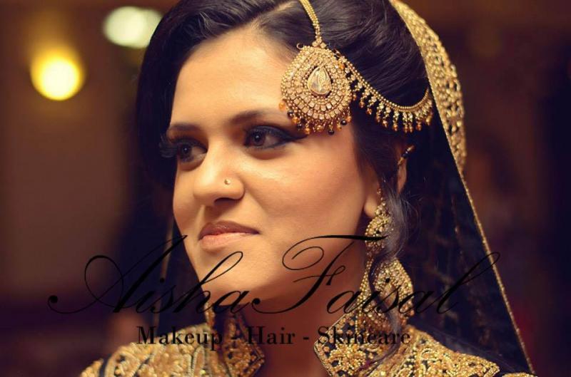 Aisha Faisal Makeup Studio-Karachi