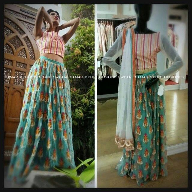 Samar Mehdi Designer Wear-Karachi