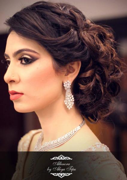 Alle'Nora by Aliya Tipu Salon-Karachi