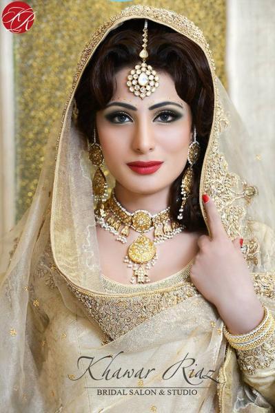 Khawar Riaz Bridal Salon-Lahore