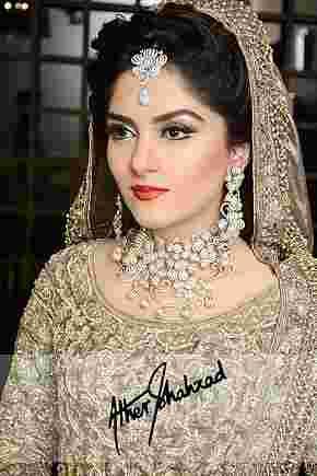Ather Shahzad Studio and Salon Bridal Makeup