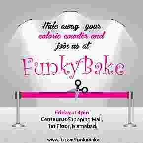Funky Bake  CupCake cafe Cakes