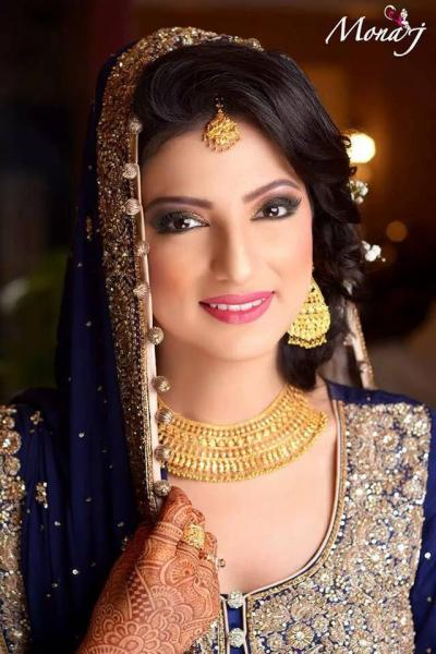 Mona j salon browse the best bridal makeup in karachi for Mona j salon contact